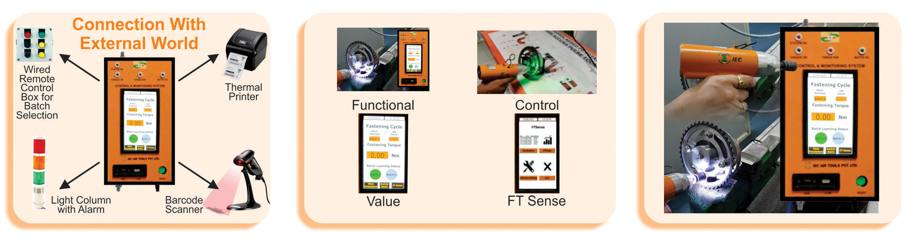 Pneumatic Transducerised Oil Pulse Tools with Controller Suppliers